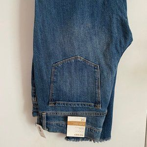 Old Navy Mid-Rise Flare Ankle Jeans